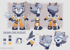 Game Character Design, Character Sheet, My Character, Character Drawing, Silver The Hedgehog, Sonic The Hedgehog, Shadow And Amy, Classic Sonic, Sonic Franchise