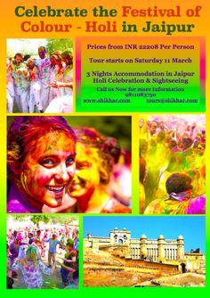 Holi 2017 Celebretion in Jaipur, Rajasthan