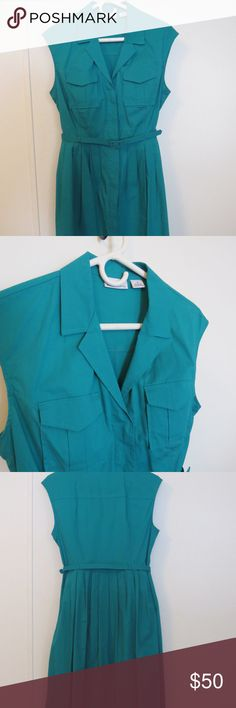 Liz Claiborne Emerald Green Dress Sz 6 EUC Liz Claiborne Emerald Green Dress Size 6 Excellent Used Condition  Like other items in my closet?  Make a bundle and I'll send my best offer! Liz Claiborne Dresses Midi