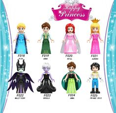 New Compatible Ice Princess LegoINGlys for Elsa Anna Maleficent Fans Best Christmas Gift To Children - Hot Products Best Christmas Gifts, Christmas Fun, Best Gifts, Toy Story, Lego Elsa, Rocking Horse Toy, Maleficent 2, Anna Y Elsa, Lego Girls
