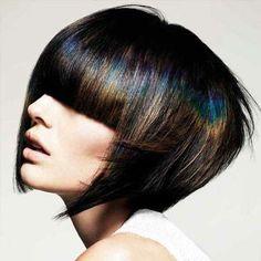 Irizáló hajszín... / Iridescent hair color ...