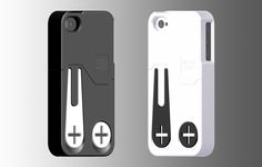 Makes sense The Mark iPhone Case with built-in ball marker and divot repair tool. #Golf