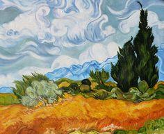 Просто красиво. Ван Гог. Чрезвычайно живо и натурально.