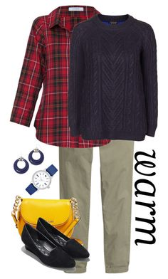 """""""Blueberry Patch 139"""" by rlshaw on Polyvore featuring H&M, MICHAEL Michael Kors, Vitamin, Topshop, Cole Haan, Mixit and Kate Spade"""