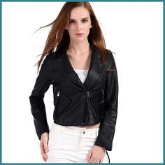 KANCOOLD 2017 projeto Short Slim jaqueta de couro das mulheres de couro pequena roupas de couro da motocicleta Outerwear oct19