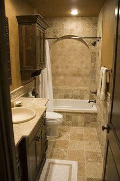 Mariner - Hall Bath - mediterranean - Bathroom - Austin - Charles Martin Custom Homes