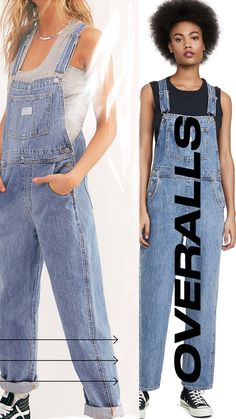 Overall is always the best option for spring: these iconic, go-anywhere overalls are just right for grabbing coffee, or just walking around the block. #spring #vintage #vintagestyle #vintageclothing #retroclothing #dungaree #overall Retro Outfits, Vintage Outfits, Vintage Fashion, Dungarees, Overalls, Pepper Tree, Vintage Love, Walking, London