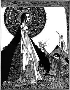 "Harry Clarke -- Illustration from ""Faust"""