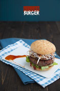 Vore: Killer burger (Ottis Toole barbecue sauce inside)