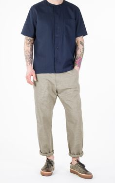Universal Works Track Trouser Sand