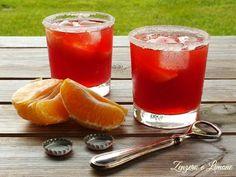 Un aperitivo analcolico davvero buono quanto semplice e veloce da preparare! Molto fresco e dissetan Popular Cocktails, Summer Cocktails, Cocktail Drinks, Cocktail Recipes, Cocktail Mix, Healthy Fruits, Healthy Drinks, Sweet Light, Gelato