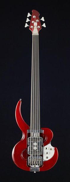 Norton Guitars | Python Bass 5 Fretless