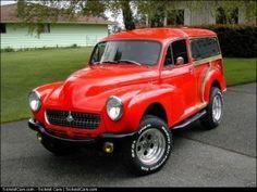 1957 Morris Minor Custom 4x4  - http://sickestcars.com/2013/05/23/1957-morris-minor-custom-4x4/