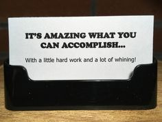 """""""School Secretary Quips, Quotes, & Words of Wisdom""""     ...40 assorted cards with holder...5.00"""