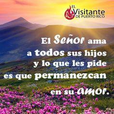 El Seños ama a sus hijos.  #Milagros #Confianza #Jesús #Dios #Fe #Católico #Iglesia #Prójimo #MensajedelDia