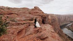 India + Jay (Horseshoe Bend, Page, AZ) - Jordan Voth | Seattle Wedding & Portrait Photographer