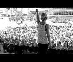 T. Mills at Denver Warped Tour