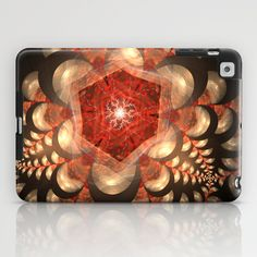 NeonSeries079 iPad Case by fracts - fractal art - $60.00