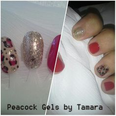 Practice Inspiration Gel and Polish. Racey Leopard For Manicure And Pedicure