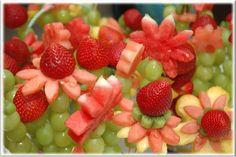 Gezellige fruitspiesjes