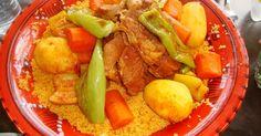 """Résultat de recherche d'images pour """"recette couscous tunisien"""""""