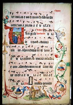 illuminated music manuscripts | The Geese Book – medieval manuscript now available online