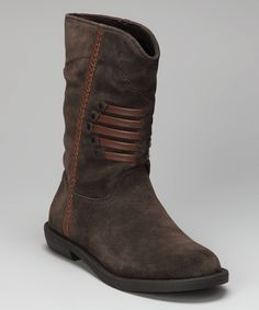 "Calvin Klein Courtney Suede boots...my attempt to wear a bit ""western""...looks good on skinny jeans"