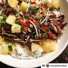 #YUM :relaxed: #Repost @nevadafoodies with @repostapp ・・・ Goose and Mallard Pineapple / Mint Stirfry... Eat more #waterfowl! #thefowllife #bandednation #chadbelding #banded #goose #goosehunting #banded