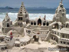 Sand Castle Art