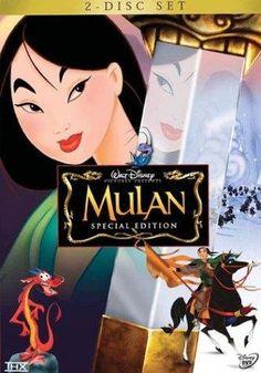 Day 1- Favorite Movie: Mulan