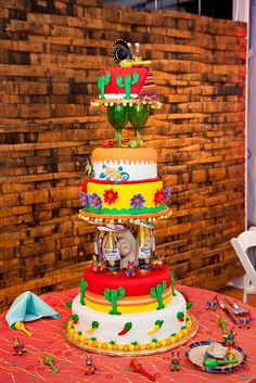 Perfect cake for a mexican themed party