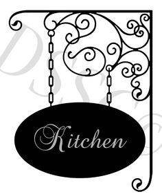 Custom Personalized Home Sign Frame Vinyl Wall Decal. $28.50, via Etsy.