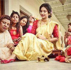 Subhashree aiburo bhaat ceremony