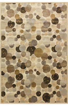 Central Oriental Providence Wishing Well Beige Rug