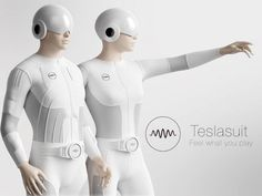 Tesla Studios is raising funds for Teslasuit. Feel what you play. (Canceled) on Kickstarter! Teslasuit – the world's first full-body haptic suit that lets you touch and feel the future of Virtual Reality and gaming. Technology World, Futuristic Technology, Wearable Technology, Technology Gadgets, Business Technology, Technology 2017, Hologram Technology, Futuristic City, Technology Design