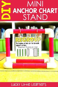 Do you ever wish you had an extra set of hands at your guided reading or guided math table?  This mini anchor chart stand is the perfect tool for any classroom and this posts walks you step by step through the assembly process.  Video included!