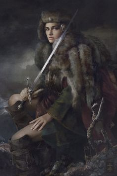 Viktoria by Eve Ventrue character writing inspiration | female fighter warrior soldier