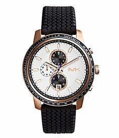 e236b6cb1ddef7 Michael Kors Mens Granger Silicone Chronograph Watch #Dillards I LOVE IT!!!  Sporty