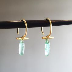 Just in time for Mother's Day, new emerald bar hoops by Ten Thousand Things have arrived. #18k #emeralds #tenthousandthings #jewellery #finejewelry #futureheirlooms #lovegold #augustla