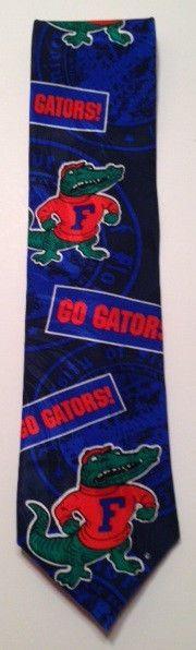 Florida Gators men's necktie blue orange 1994 Ralph Marlin & Co #RalphMarlin #FloridaGators