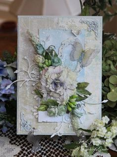 Shabby Delight 1 by Jerri Kay - Cards and Paper Crafts at Splitcoaststampers