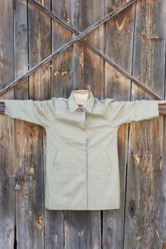 dwustronny angielski płaszcz 2w1 klasyk od Kingdom of Vintage