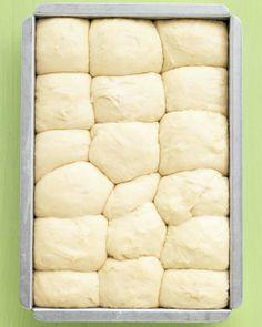 No-Knead Dinner Rolls #recipe #bread #easy
