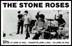 Ian Bell, The Stone Roses and some considerably large numbers Stone Roses, Good Music, My Music, Groups Poster, Free Internet Radio, Indie Kids, Britpop, Soundtrack To My Life, Rock Concert