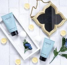 Nu Skin, Marine Mud Mask, Glacial Marine Mud, Spa Night, Aquamarine Colour, Benzoic Acid, Skin Cleanse, Epoch, Dead Skin