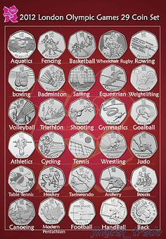 Royal mint 2012 london #olympic #games 50p 29 coin set with album new #uncirculat, View more on the LINK: http://www.zeppy.io/product/gb/2/201547020162/
