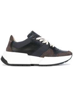 MM6 MAISON MARGIELA | wedge lace-up sneakers #Shoes #MM6 MAISON MARGIELA