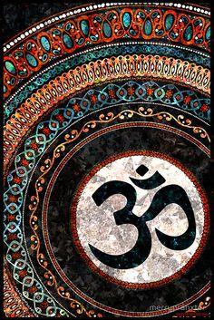 Items similar to Om - Mandala digital painting poster print version 2 on Etsy Hippie Wallpaper, Sf Wallpaper, Lord Shiva Hd Wallpaper, Shiva Art, Hindu Art, Mandala Design, Mandala Art, Indian Mandala, Yoga Kunst