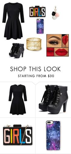 """""""cada dia"""" by clarallado on Polyvore featuring Miss Selfridge, Casetify and GUESS"""