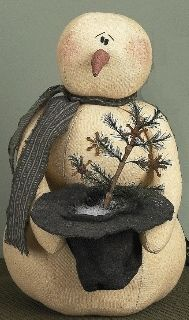 Mr. Thomas Decorative Snowman http://www.primitivehomedecors.com/primitive-decor-primitive-snowmen-c-2_284_292_10.html